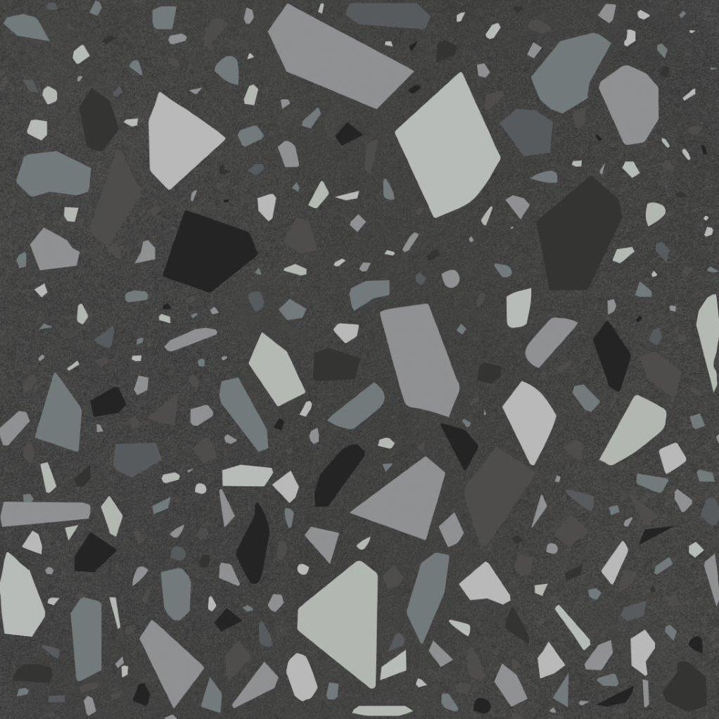 Quintessenza Confetti Negro Petrolio